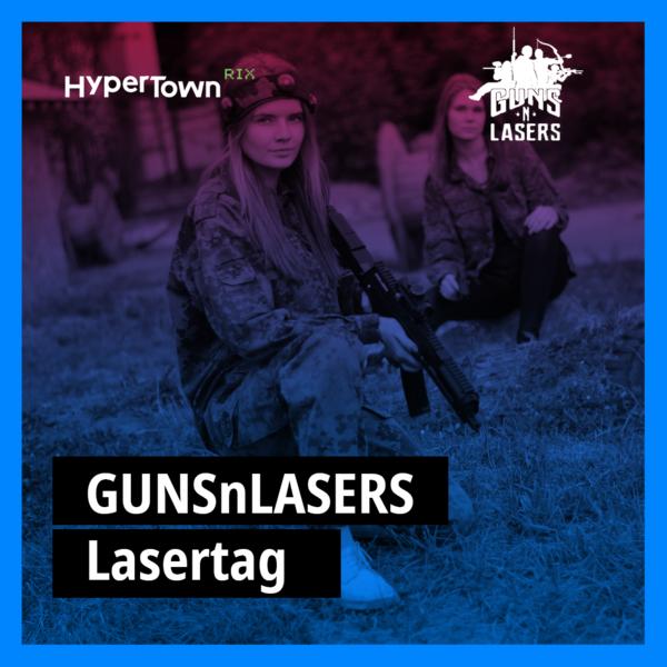 Gunsnlasers Lasertag