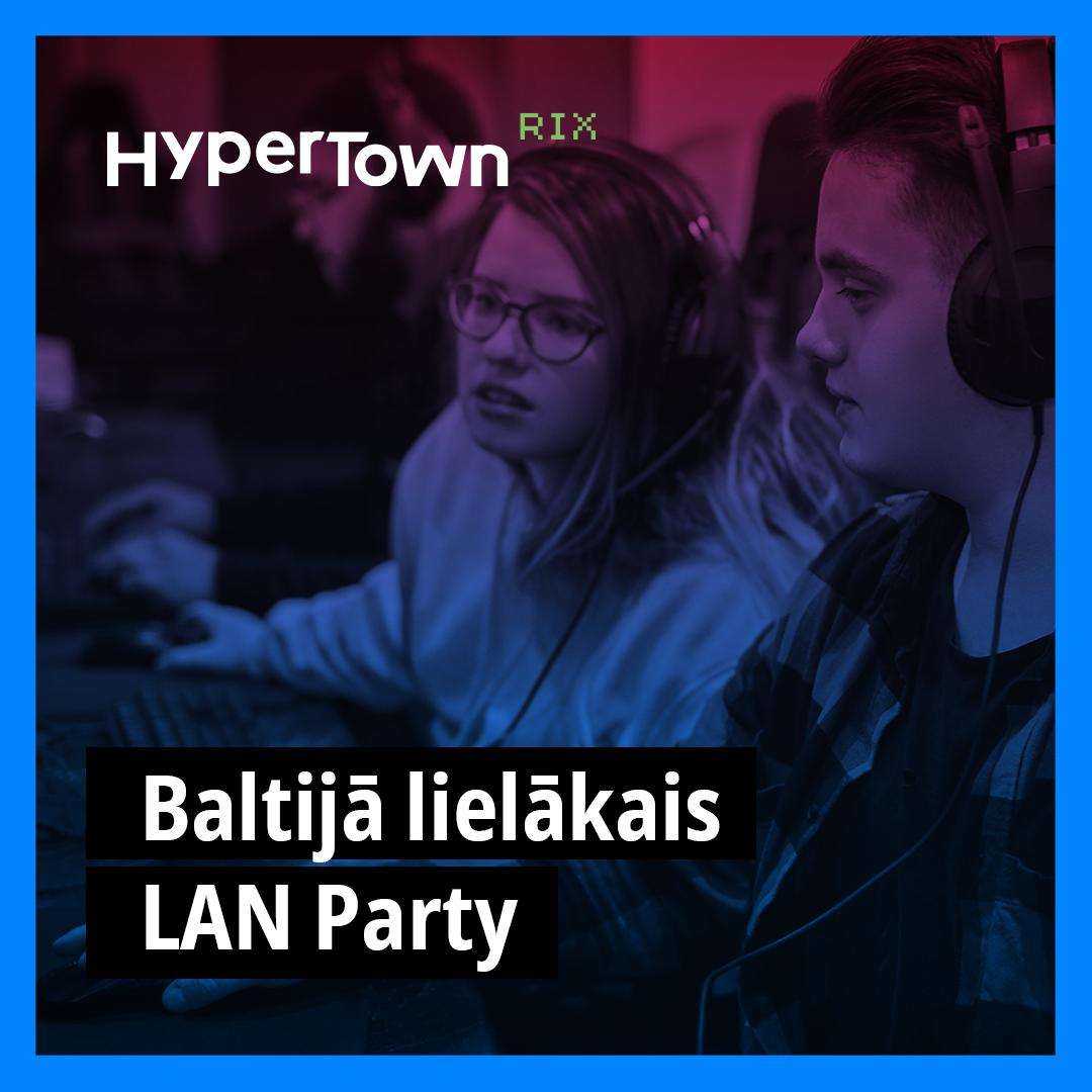 Reģistrējies LAN Party turnīriem tagad!